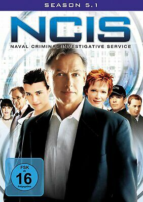 NCIS - Navy CIS - Season/Staffel 5.1 # 2-DVD-BOX-NEU