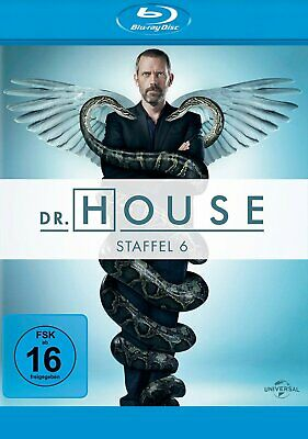 Dr. House - Season/Staffel 6 # 5-DISC-BLU-RAY-BOX-NEU