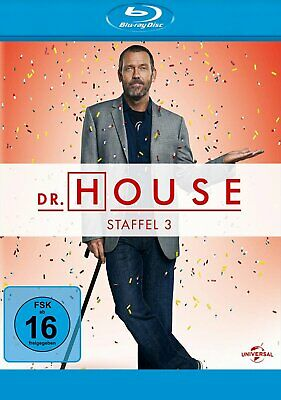 Dr. House - Season/Staffel 3 # 5-DISC-BLU-RAY-BOX-NEU