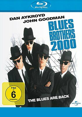 Blues Brothers 2000 - The Blues are Back - BLU-RAY-NEU