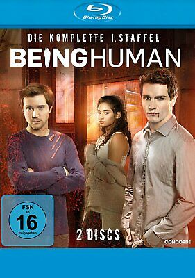 Being Human - Die komplette Season/Staffel 1 # 2-BLU-RAY-NEU
