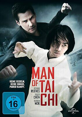 Man of Tai Chi - (Keanu Reeves) - DVD-NEU