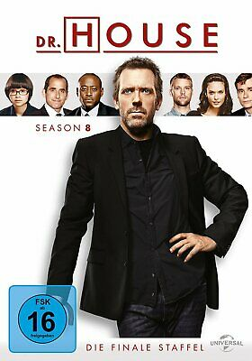 Dr. House - Die komplette Season/Staffel 8 # 6-DVD-BOX-NEU