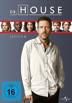 Dr. House - Die komplette Season/Staffel 5 # 6-DVD-BOX-NEU