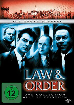 Law & Order - Season/Staffel 1 # 6-DVD-BOX-NEU