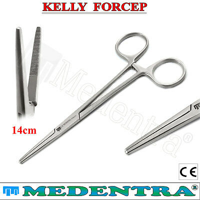 Artery Kelly Forceps Straight Locking Hemostat forceps Dental Surgical Save £10