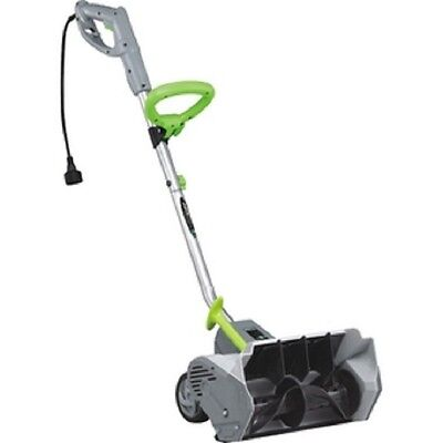 """12 Amp 14"""" Electric Snow Thrower with Wheels"""