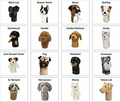 Daphne's Animal Golf Headcovers - 60 Different Animals To Choose From!