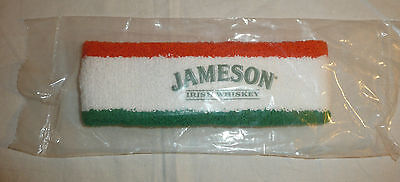 NEW SEALED - Jameson Irish Whiskey Head Band - Orange White Green Running Sweat
