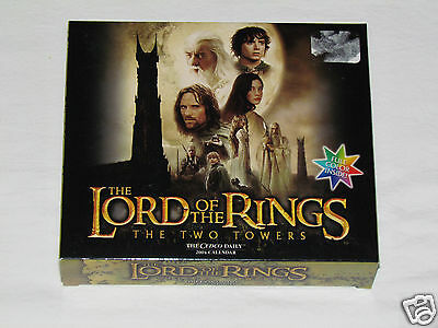 2004 LORD OF THE RINGS TWO TOWERS Cedco Daily Calendar COLLECTIBLE NEW UNUSED