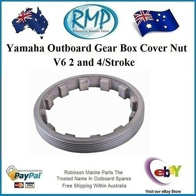 A Brand New Gear Box Cover Nut Suits Yamaha V6's # 6G5-45384-00