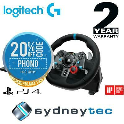 New Logitech G29 Driving Force Racing Wheel For PS4 and PC