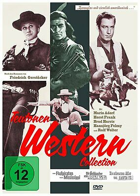 Teutonenwestern Collection (u.a. Die Flußpiraten vom Mississippi) # 3-DVD-NEU