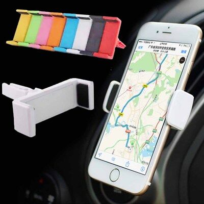 Universal Car Air Outlet Vent Mount Cradle Holder For Cell Phone iPhone Samsung