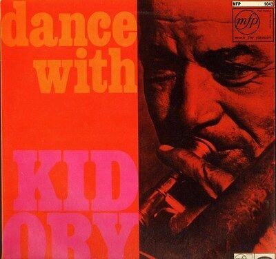 KID ORY dance with MFP 1042 uk music for pleasure LP PS EX/EX