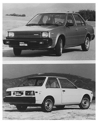 1983 Nissan Sentra Sedans Automobile Photo Poster zch8496