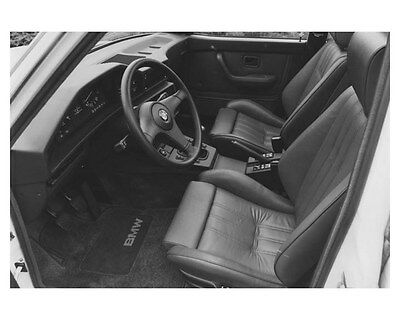 1987 BMW 535is Interior Automobile Photo Poster zch8535