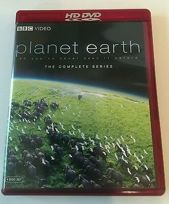 Planet Earth The Complete Series (4 Disc Set) Hd Dvd, Bbc Video