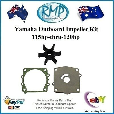 A Brand New Water Pump Impeller Kit Suits Yamaha 115hp-130hp # R 6E5-44352-K