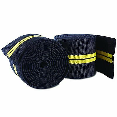CAP Barbell Elastic Knee Wraps, Pair model number: HHSA-CB020 BRAND NEW