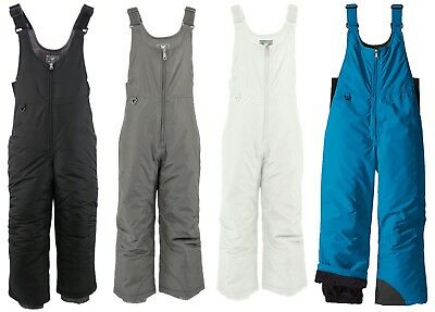 White Sierra D9717Y Youth Boys Girls Insulated Snow Ski Snowbroading Bib Pant
