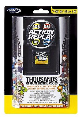 Nintendo DS DSi 3DS Ds Lite Action Replay Game Enhancer Yellow