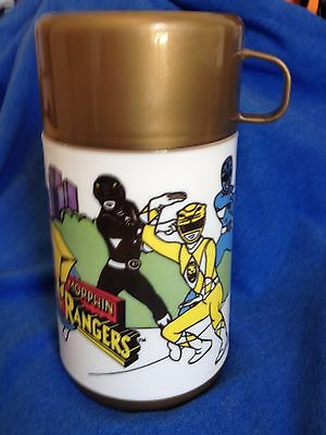 MIGHTY MORPHIN POWER RANGERS Aladdin NEW Thermos Bottle Vintage 1995 Saban