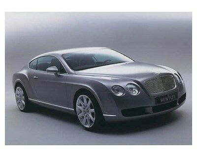 2003 Bentley Continental GT Automobile Photo Poster zch8570