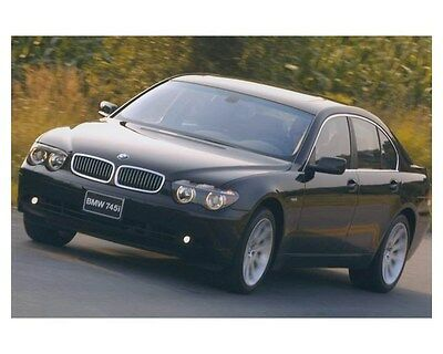 2002 BMW 745i 7 Series Automobile Photo Poster zch8657