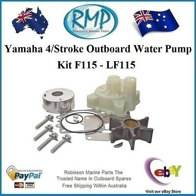 A New 4/Stroke Yamaha Outboard Water Pump Kit Suits F115 - LF115 #R 68V-W0078-00