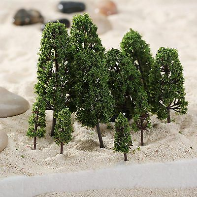 20Pcs Trees Model Train Railway Garden Scenery Wargame Diorama Layout HO N Scale