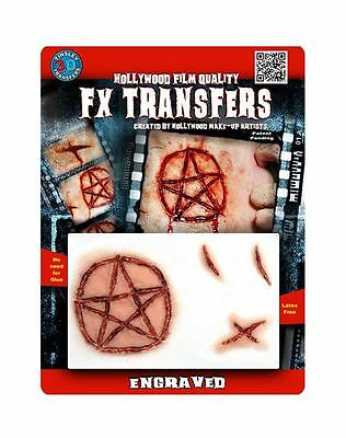 Tinsley Transfers Engraved FX Transfer Fake Wound