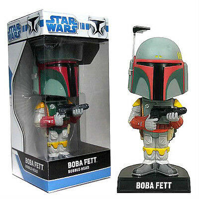STAR WARS BOBA FETT cabezon bobble-head PVC appr 17cm Funko