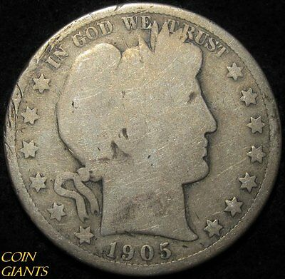 1905-O Barber Half Dollar 50c Coin New Orleans Mint Scarce Rare Key Date US Type