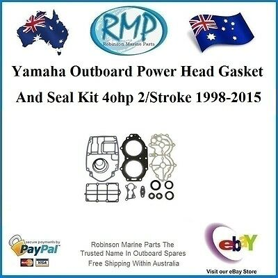 A Brand New Power Head Gasket & Seal Kit Yamaha 40hp 1998-2015 # R 66T-W0001