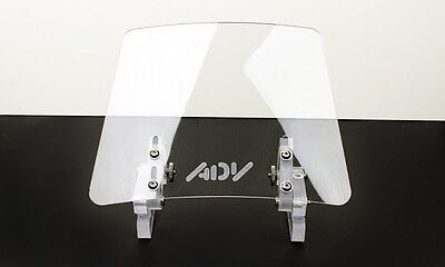 Wind screen deflector clear windshield windscreen ENDURO motorcycle motorbike