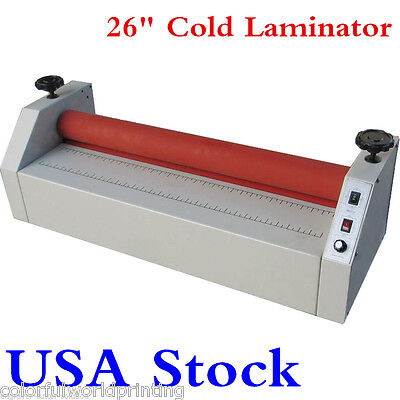 "USA!!! 110V 26"" Home Eletric Business Card Cold Laminator Machine -FREE Shipping"