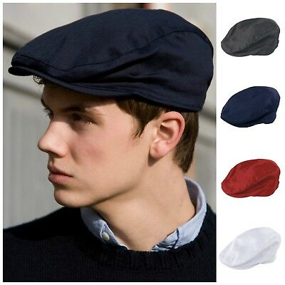Ivy Flat Cap Herringbone Hat Gatsby Newsboy Baker Boy Cabbie Elasticated Mens