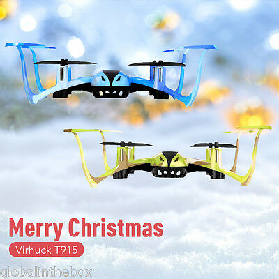 Virhuck T915 Headless RC Quadcopter Drone Helicopters 2.4GHz 4CH 6AXIS GYRO Gift