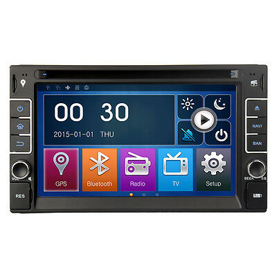 """Pumpkin 6.2"""" Double 2 Din Car DVD Player Radio Stereo Touch Screen GPS Bluetooth"""