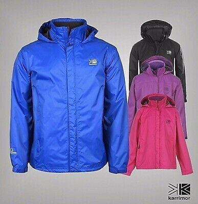 New Junior Boys Girls Karrimor Waterproof Breathable Sierra Jacket Size Age 7-13