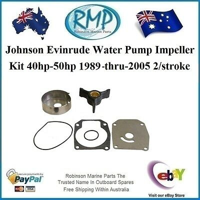 A Brand New Impeller Kit Suits Evinrude Johnson 40hp-50hp 1989-2005 # R 433548