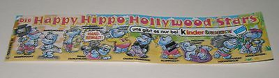 "BPZ / Fehldruck ""Happy Hippo Hollywoodstars"" ( Glanzpapier! )"