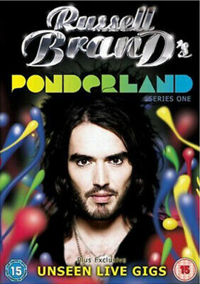 Russell Brand: Ponderland DVD (2008) Russell Brand ***NEW***