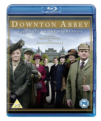 Downton Abbey: A Journey to the Highlands Blu-Ray (2012) Maggie Smith cert PG
