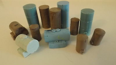 N-Scale  12pc Fuel Tank's & Oil Tanks 1:160 Unfinished