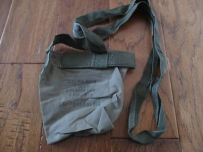 U.s Military Ammo Pouch Dump Bag With Shoulder Strap Loose Shells Shotgun Shells