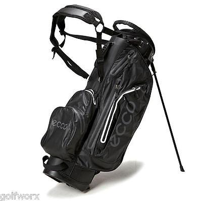 New Ecco 2015 Waterproof Carry Stand Bag (Black)