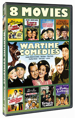 Wartime Comedies 8-Movie Collection - 2 DISC SET (2015, DVD New)