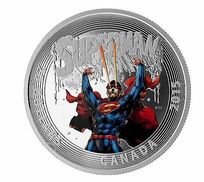 2015 $20 CAD-Iconic Superman Covers-Superman #28-99.99% 1 oz Silver PR Coin- RCM